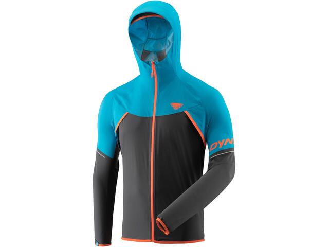 Dynafit Alpine Waterproof Løbejakke Herrer grå/blå